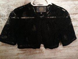 Alpin de luxe Blusa folclórica negro