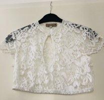 Alpenherz Blouse bavaroise blanc polyamide