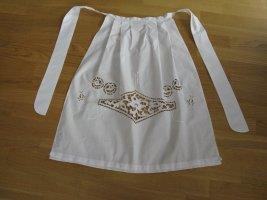 Tradycyjny fartuch  biały Bawełna