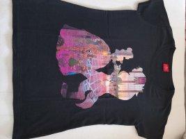 Disney Camicia fantasia nero-rosa