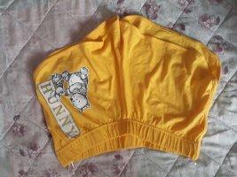 Disney Sportshort geel