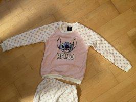 Disney Pyjama wit-roze