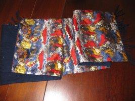 Disney Écharpe en soie bleu soie
