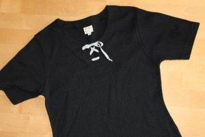 Distler Blusa tradizionale nero Cotone
