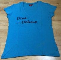 Kenvelo Camicia fantasia turchese Cotone