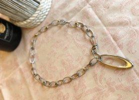 DKNY Halskette Silber mit Steinen
