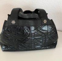 DKNY Henkeltasche schwarz