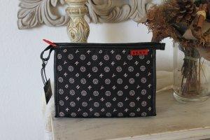 DKNY Stoffen tas zwart Gemengd weefsel