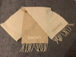 DKNY Woolen Scarf oatmeal-light brown