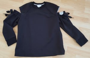 DKNY Scharzes Sweat mit Cut out Gr. 38/40