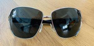 DKNY Okulary retro brązowo-fioletowy-czarny