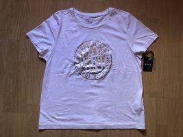 DKNY T-shirt bianco Cotone