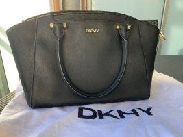 DKNY Handtas zwart-goud