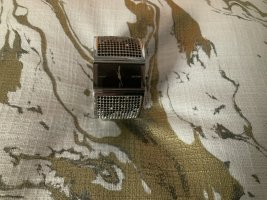 DKNY Horquilla para reloj verde oscuro-gris claro metal