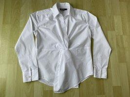 DKNY weiße raffinierte Bluse