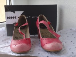 Dkode Mary Jane Pumps pink leather