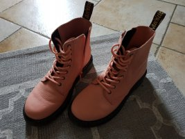 Ankle Boots dusky pink