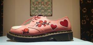 Doc Martens Zapatos Budapest rosa-rosa