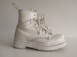 Doc Martens Lace-up Boots white leather