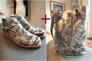 DOGO SET - Boots und Shopper