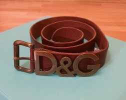 Dolce & Gabanna - D&G - Damen - Gürtel - braun - 95 cm