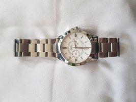 Dolce&Gabanna Texas DW0538 Chronograph Uhr Armbanduhr Silber