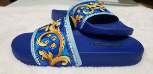 Dolce Gabbana Badeschuhe Badeschlapfen Badepatschen Sandalen