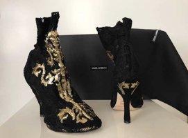 Dolce & Gabbana Barock Stiefeletten