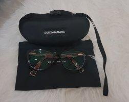 Dolce & Gabbana Occhiale nero-rosso