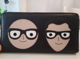 Dolce & Gabbana Designer Patch Wallet