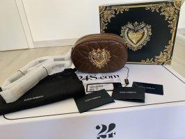 Dolce & Gabbana Crossbody bag brown leather
