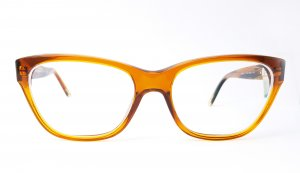 Dolce & Gabbana Glasses dark orange-cognac-coloured acetate