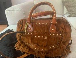 Dolce & Gabbana Satchel brown suede