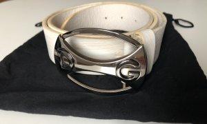 Dolce & Gabbana Cintura di pelle bianco