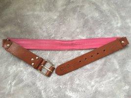 Dolce & Gabbana Cinturón de cuero multicolor
