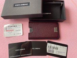 Dolce & Gabbana Hoesje voor mobiele telefoons bruin-paars