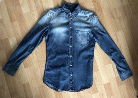Dolce & Gabbana Camisa vaquera azul-azul celeste