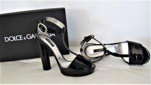 *Dolce & Gabbana* Lackleder Pumps Gr. 39 NP 675,-€ ! TOP WIE NEU!