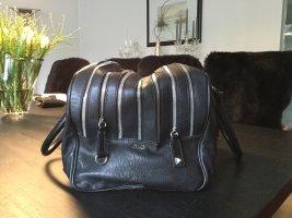 Dolce & Gabbana Bolso barrel negro Cuero