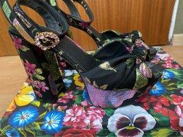 Dolce & Gabbana Platform Sandals multicolored