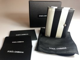 Dolce & Gabbana Wallet black-white leather