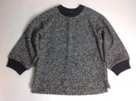 Dolce & Gabbana Oversized Sweater black-white