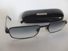 Dolce & Gabbana schmale Sonnenbrille mit Verlauf und Etui