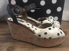 Dolce & Gabbana Platform Pumps black-white