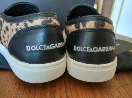 Dolce & Gabbana Buty wciągane Wielokolorowy Skóra