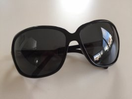 Dolce & Gabbana Ovale zonnebril zwart