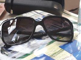 Dolce & Gabbana Lunettes de soleil angulaires noir acétate