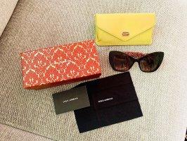 Dolce & Gabbana Gafas mariposa color bronce