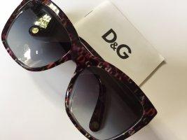 Dolce & Gabbana Owalne okulary przeciwsłoneczne ciemnobrązowy