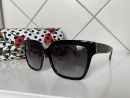 Dolce & Gabbana Butterfly bril zwart-rood
